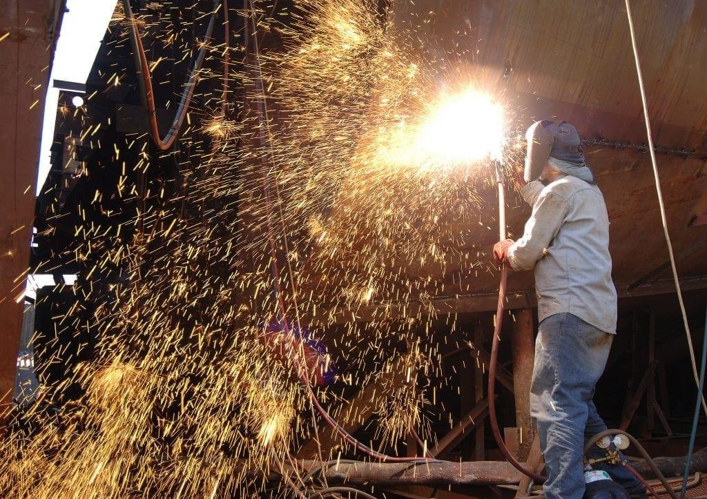 Shipyard Welding